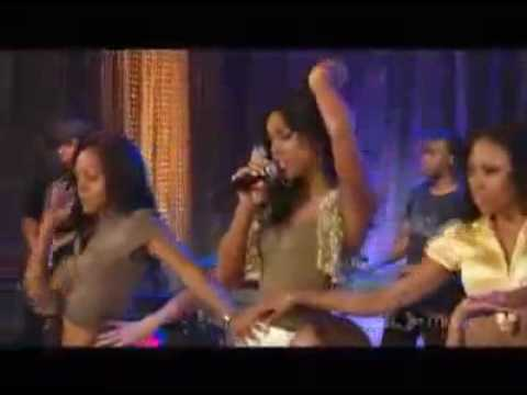 Kelly Rowland - Work/Ghetto Live AOL