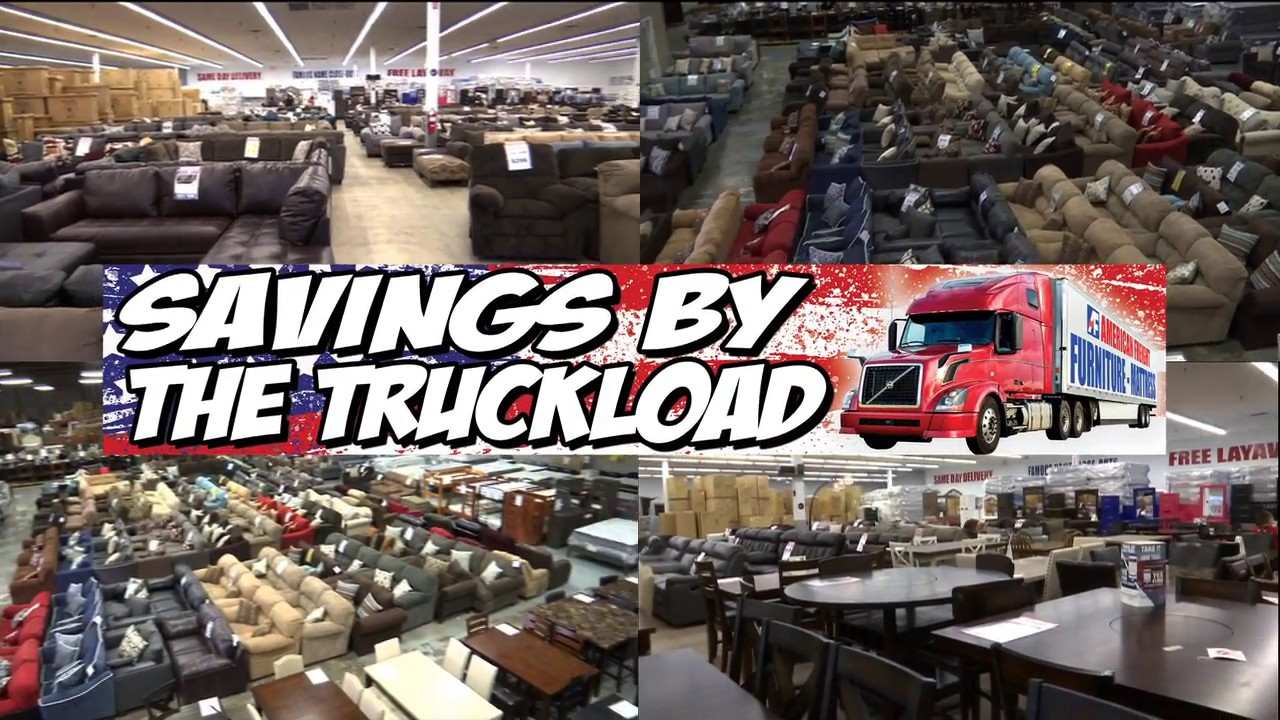 Savings By The Truckload   Happening Now At American Freight Furniture And  Mattress