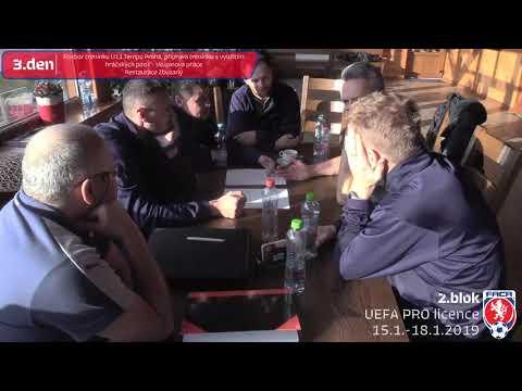 2. blok UEFA PRO licence