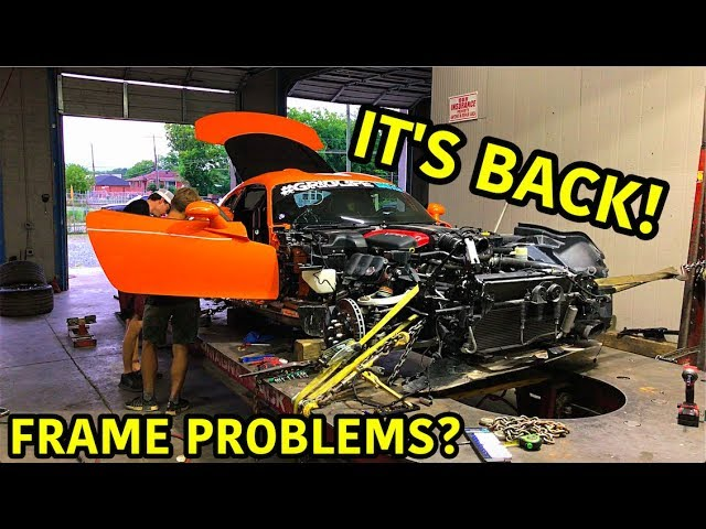 Finishing Up The Wrecked Dodge Viper TA!