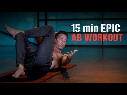 15min. EPIC AB WORKOUT - CORE - Level Up 108 Yoga Program