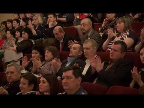Стаханов. Жевлаков. В ГДК им. Горького состоялся концерт посвященный Международному женскому дню.