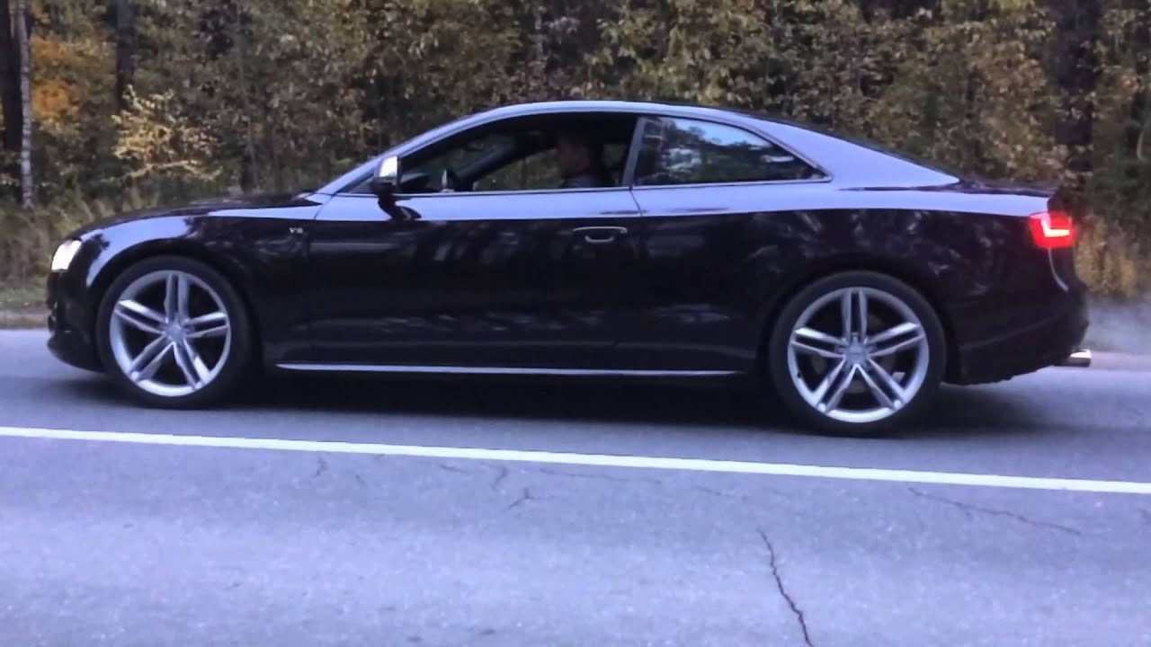 audi s5 rs5 engine swap manual gearbox custom rs5 exhaust sound [ 1280 x 720 Pixel ]
