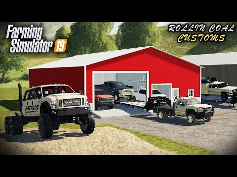 FS19- BUILDING A TRUCK DEALERSHIP! WELCOME TO ROLLIN COAL CUSTOMS
