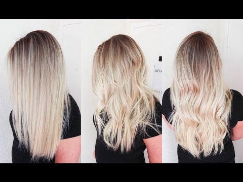 Sunkissed Hair Smudge Roots And Sombre Balayage