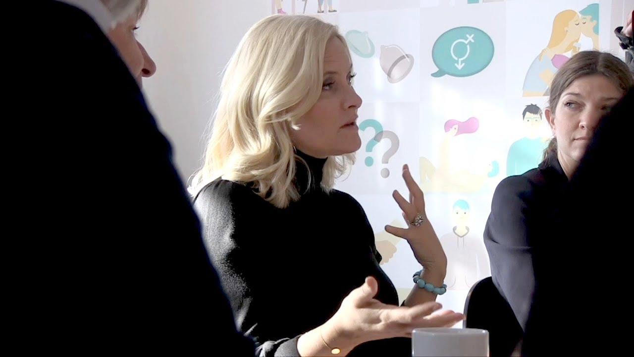 Kronprinsessen: - Norge må bli bedre på seksualundervisning