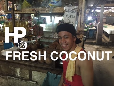 Fresh Grated Coconut Milk Cartimar Market Pasay City Metro M
