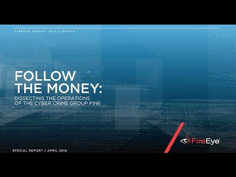Follow the Money: FIN6