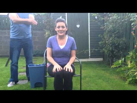 Babs does the Ice Bucket Challenge Aug 2014