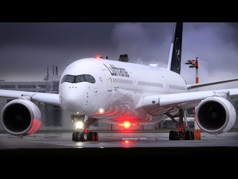 Planespotting Munich   X-treme weather: LH new liveries & more   Oct. 2018