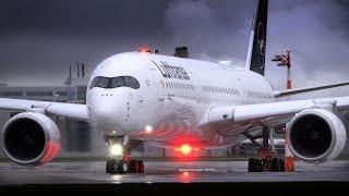 Planespotting Munich | X-treme weather: LH new liveries & more