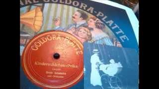 Margarete Wiedecke: Kindermädchen-Polka (Berliner Couplet, Aufn. um 1910)