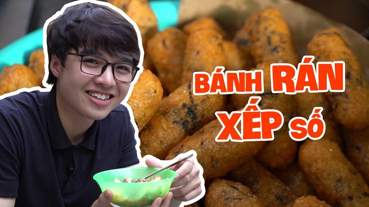 Bánh rán xếp số Lạc Long Quân ngon trứ danh Hà Nội - Tun Phạm - Ẩm Thực Đường Phố | VTV Travel