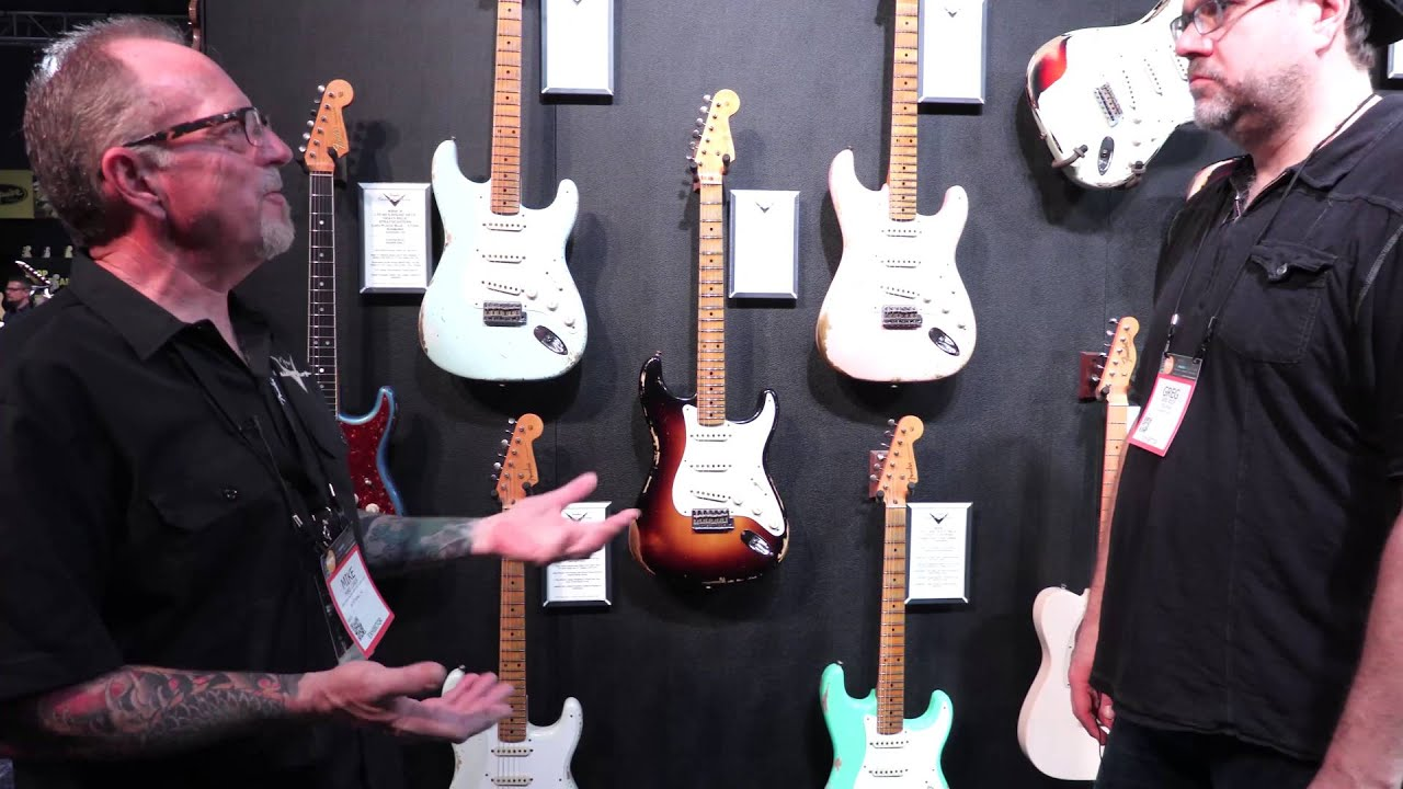 what s new from fender guitars with greg koch mike lewis namm