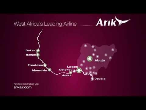 Arik Air's Lagos to London Premier Class flagship service