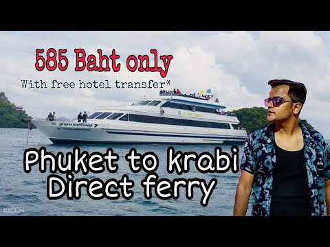 585-baht-:phuket-to-krabi-by-ferry-|-thai-people-not-respect-indians-why?-truth-revealed!