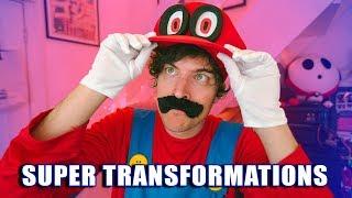 SUPER TRANSFORMATIONS