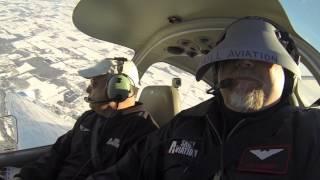Private Pilot Biennial Flight Review In Diamond DA-40 (2013)