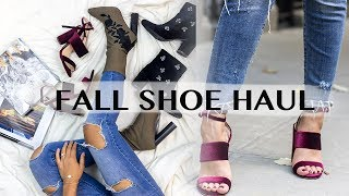 Video TOP FALL SHOE TRENDS! FALL BOOT HAUL | THE WAY TO MY HART download MP3, 3GP, MP4, WEBM, AVI, FLV Januari 2018