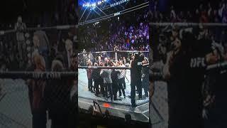 Массовая  драка после боя Хабиба и Конора на UFC229