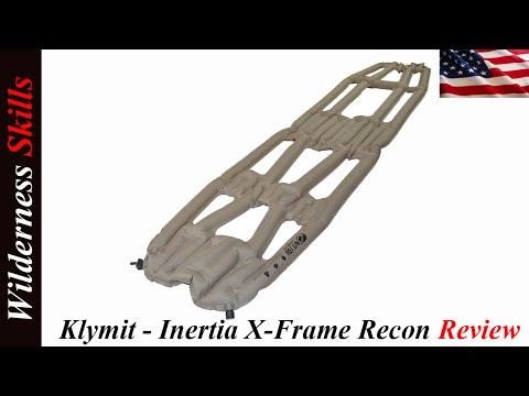 Klymit Inertia X Frame Recon Review English Version - YouTube