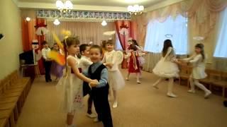 Парный танец на день Святого Николая