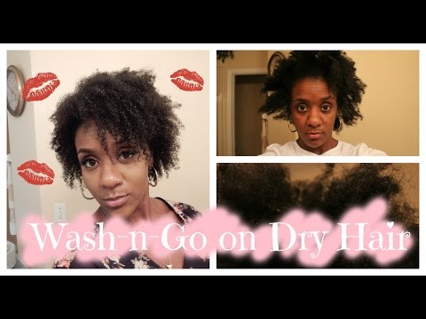 Wash in Go for Dry Hair