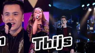 Tieners in finale The Voice of Holland