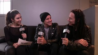 Interview With Art Of Anarchy Scott Stapp Of Creed And John Moyer Of Disturbed