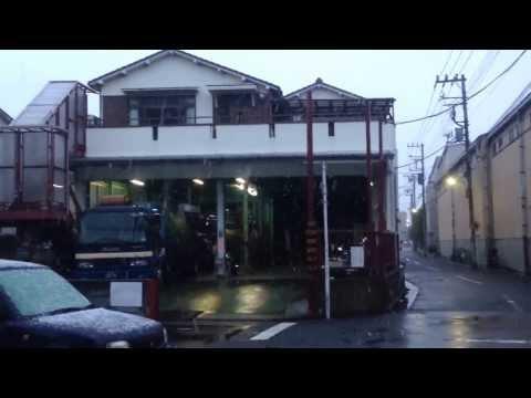Япония. Первый снег в Токио в 11 градусов 0_о