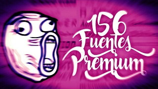 Increíble Pack De Fuentes Para Photo Editor Y PS Touch -Android 2017//TutosCarlos//