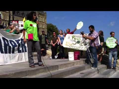 Occupy Ottawa - Take Canada Back - 2012, September 17 - P2