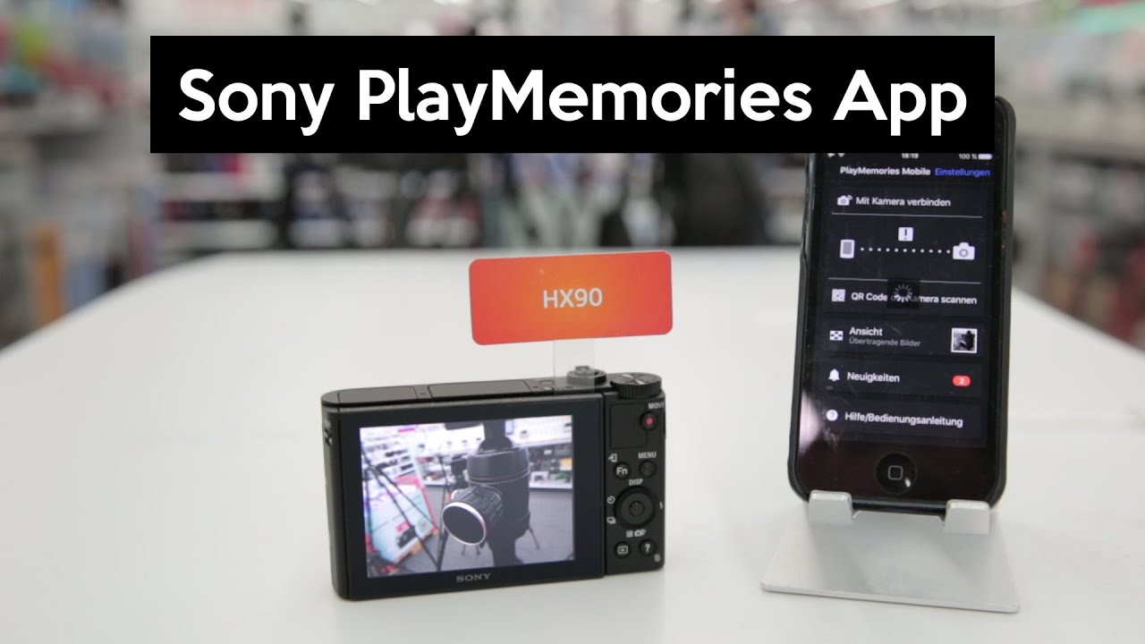 Sony PlayMemories App | transfer photos and control your camera