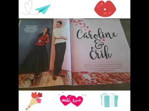 Interview Erik De Vogel en Caroline De Bruijn in de Libelle #Valentijnseditie