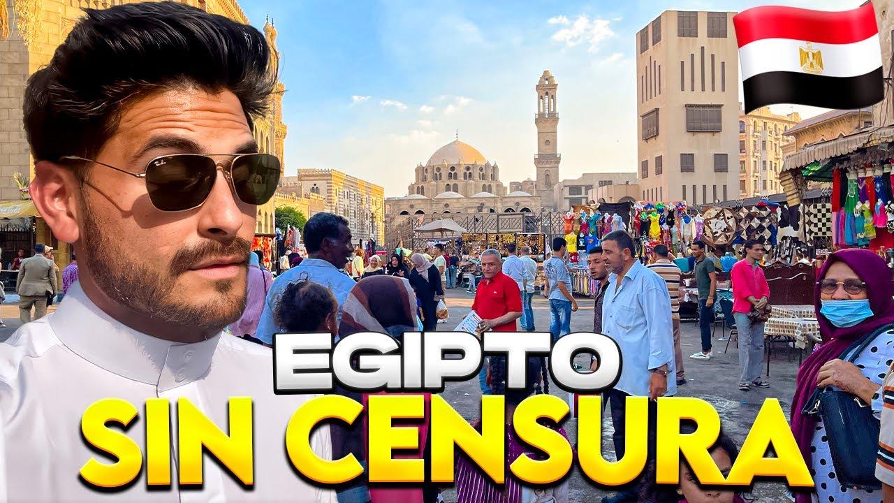 ASÍ ES LA VIDA EN EGIPTO, SIN OCULTAR NADA | HOMBRES CON 4 ESPOSAS - Gabriel Herrera