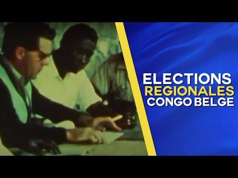 Maurice Lenain revient sur les élections régionales de 1959 au Congo Belge