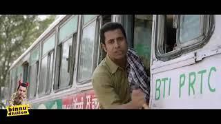 Best of Binnu Dhillon - Comedy Bus Scenes _ Comedy || punjabi movie comedy scenes.
