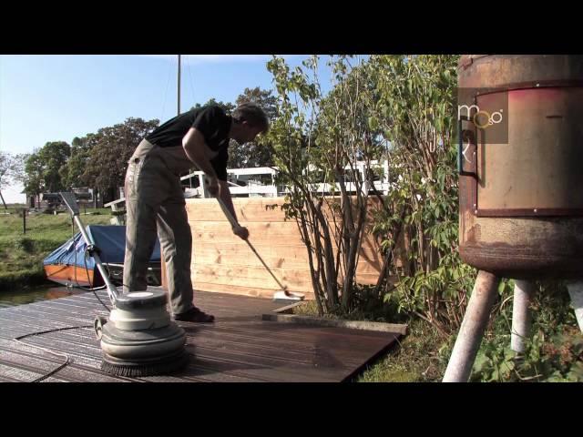Instrucciones de instalación y mantenimiento de  la tarima de exterior (MOSO Bamboo X-treme)
