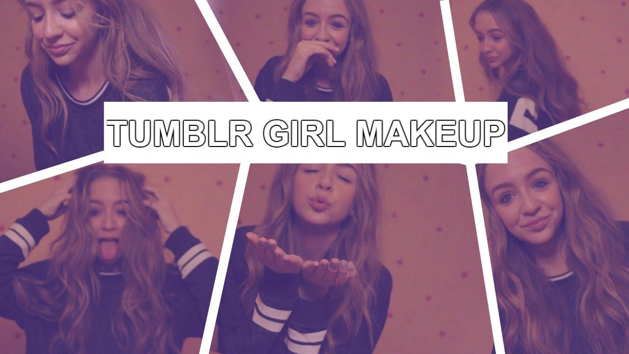 Tumblr Girl INSPIRED Makeup Tutorial! U2665 AnnasWorld - YouTube