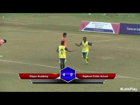 RFYS: Guwahati Sr. Boys - Dispur Academy vs Rajdhani Public School Highlights