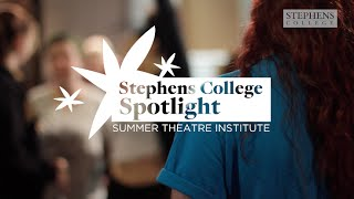 Spotlight - Jessica Burr, Summer Theatre Institute