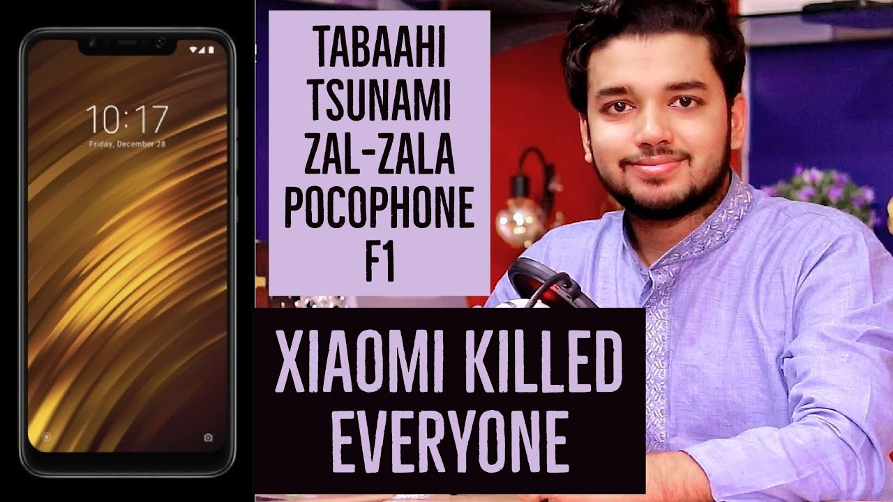 Xiaomi PocoPhone F1 Launched, Specifications, Price & My Opinions | Hindi -  हिंदी