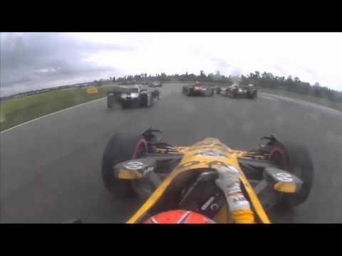 Hunter-Reay, Pagenaud, Bourdais Grand Prix of NOLA Incident