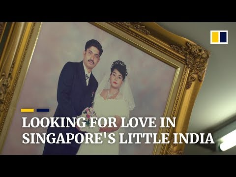 In Singapore's Little India, Love Is Just A Shutter Click Away