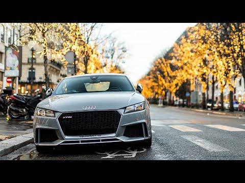JE DRIFT PLACE DE L'ÉTOILE À PARIS !! ( Audi TTRS )