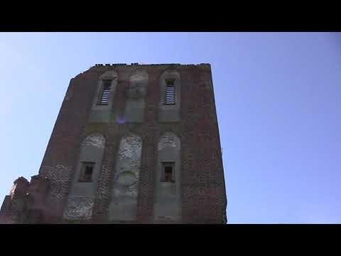 Развалины Древней Кирхи И Орденского Замка Бранденбург