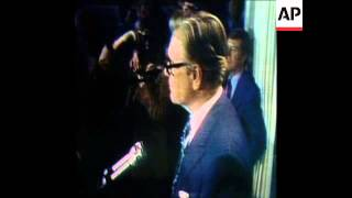 SYND 20 8 74 NELSON ROCKEFELLER HOLDS A PRESS CONFERENCE