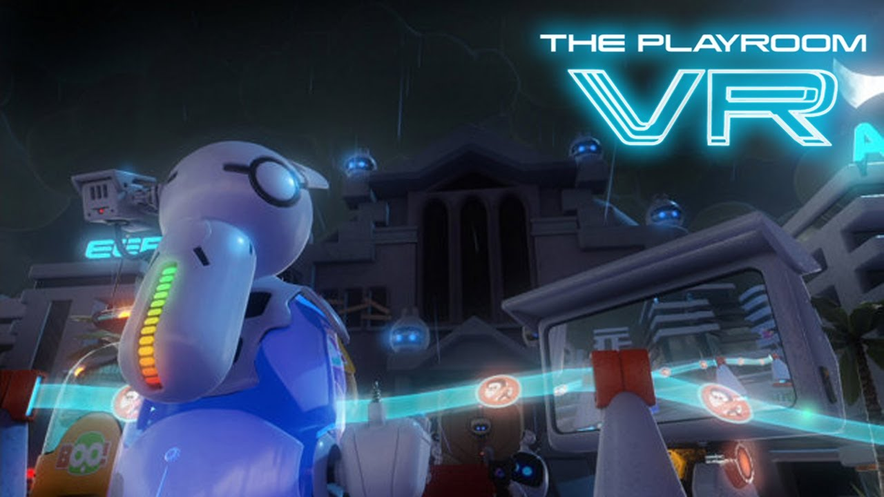 Psvr The Playroom Vr Ghost House Youtube