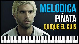 Como tocar: Piñata - Quique El Cuis EL MARGINAL 2 [ MELODICA ][ TUTORIAL ][ NOTAS ]
