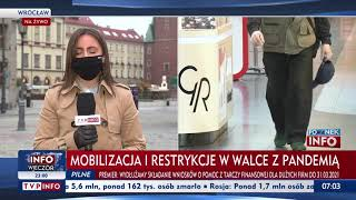 Koronawirus w Polsce: Dziś wchodzą w życie nowe obostrzenia